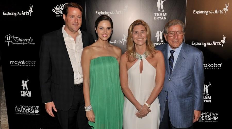 Tony Bennett Honors Sean Wolfington with the Tony Bennett Exploring the Arts Award